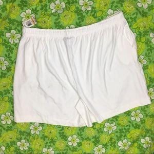 Karen Scott Shorts - NWT Karen Scott Sport White Shorts 3X